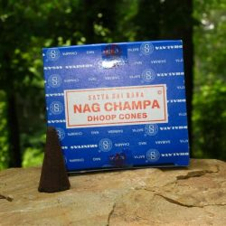 SATYA INCENSE CONES - NAG CHAMPA (BOX OF 12)