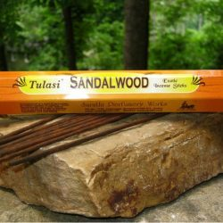 TULASI INCENSE HEX PACK  20 STICKS - SANDALWOOD