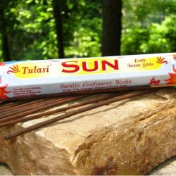 TULASI INCENSE HEX PACK 20 STICKS - SUN