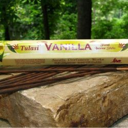 TULASI INCENSE HEX PACK 20 STICKS - VANILLA