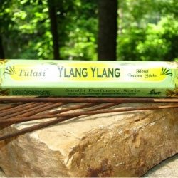 TULASI INCENSE HEX PACK 20 STICKS - YLANG YLANG